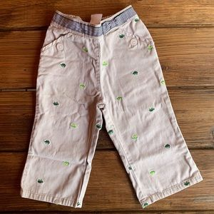 Gymboree Turtle Khaki Pants